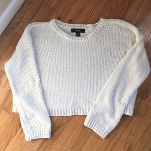 Forever 21 Sweaters - Super Soft Chenille Crop Sweater - Forever21